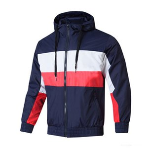 2020 Spring Mens Designer Vestes Automne Windbreakers Mens Outdoor Sport veste de course Marque lambrissé Manteaux Mode Outerwears AT1 2042104V