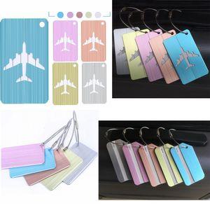 10style Bavul Bagaj etiket Etiketler uçak kolye Çanta Seyahat Aksesuarları Adı Kimlik Adres moda çanta Aksesuarlar FFA2483