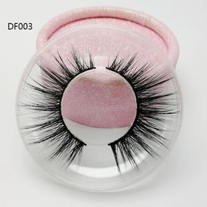 Populäre Wimpern der Seide 3d des neuen Entwurfs mit Großhandel fertigten Haarwimpern der Qualitätsnatürlichen Art 3d mit preiswertem Preis besonders an