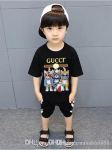 2020 Fashion Kids 1-9 years t Shirt Children Lapel Short sleeves T shirt Boys girl Tops Clothing Brands Solid Tees Girls Cotton shirts wet10
