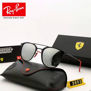 la moda de alta calidad avanzada de lujo de la marca Q1ray prohibición de los hombres y de las mujeres diseñadores gafas de sol de los hombres gafas de entrega gratuita