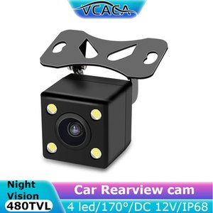 Car View Camera Parking Kit Video Monitor Night Vision Waterproof 170° 4 LED Recorder Car Accessories For MP5 Multimedia Player