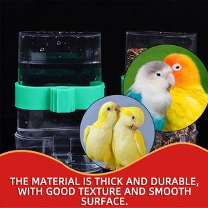 Armadilha do pássaro Automático Água Bird Cage Supplies Bird Cage Acessórios Fonte de Água Potável Parrot Utensílios Outros Louça