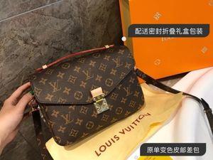 Hombro de la señora de las mujeres bolsa de Nueva inclinado bolso de mano de las mujeres de los regalos La Porte aslant