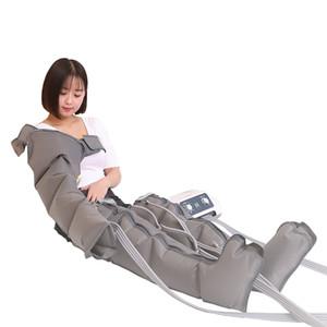 La compresión del aire portátil Presión drenaje linfático Presoterapia Presoterapia Máquina Aire Cuerpo masajeador de pies de desintoxicación corporal adelgazante