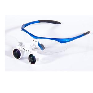 Brillenglas 2.5x Lupe kann für Zahnmedizin, Chirurgie, Medizin usw. verwendet werden.