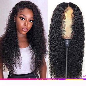 Pre plucked Curly Human Hair Wig Brazilian Remy 13x4 Lace Front Human Hair Wig 150% Glueless Curly Lace Front Wig