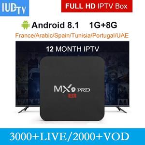 IUDTV 3 Monate, 6 Monate, 1 Jahr und MXQ PRO Android Media Player für Schweden Spanisch Portugal Türkei Italien Deutschland