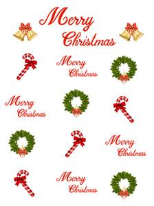 Рождественский венок и тростниковые колокольчики украшения виниловые фотографии фонов белая фотобудка фоны для Merry Christmas Studio реквизит
