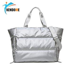 Женщины Gym Фитнес сумка Водонепроницаемая спортивная сумка сухой мокрой Separation плавать Йога сумка одно плечо Путешествия