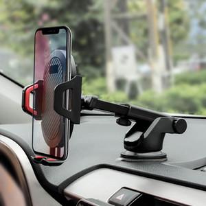 Pára-brisa gravidade otário Car Phone Holder para o iPhone X 11 Pro titular para o telefone no carro Suporte Smartphone Voiture pé quente