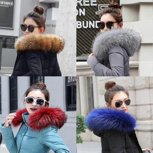 2019 겨울 여성 모조 케이프 스카프 겨울 따뜻한 모피 칼라 멋진 액세서리 목도리 겨울 선물 Faux Fox Fur new