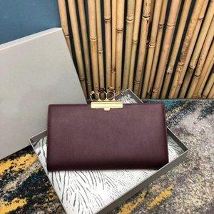 Dinner Banquet Handbag Flash Drill Skull Gem Ring Button European Imported Calf Leather Hand-made