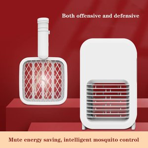 New electric shock type mosquito swatter household ultraviolet electric mosquito swatter dual purpose mosquito killer lamp creative home