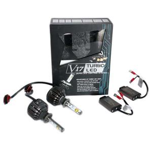 H1 LED Car Lamp High Lumen 40W 4800lm 6000K White w  Fan Auto Headlight Fog Light Conversion Kit For Buicks Luxes VW