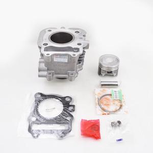 Cilindro de la motocicleta de segmentos de pistón Gasket Kit para SUZUKI AN 125 (Vecstar 125) Burgman 125