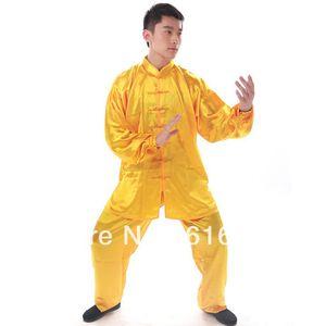 Unisex Multicolor caixa de sombra chinesa desempenho do desgaste Kungfu Suit Vestuário Rayon Clothes Set