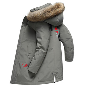 90% White Duck Down Jacket Mens Designer Jackets Down Thick Warm Hooded Casual Fashion Winter Coat Parkas Size M-4XL