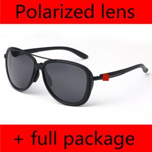 2020 Yeni Polarize Güneş Gözlüğü Erkekler Ve Kadınlar Doğa Sporları Sürüş 4129 Güneş Gözlükleri Bölünmüş Zaman Mat Siyah ile Kutusu