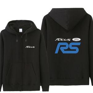 Осень Ford Focus RS толстовка толстовки мужская мода пальто пуловер флис пуловер унисекс человек Ford Focus RS кофты HS-079