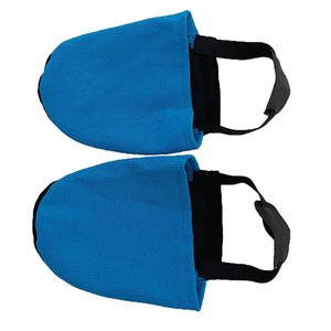 1 Pair Bowling Shoe Slider Protector Replacement - Functional & Washable - Blue