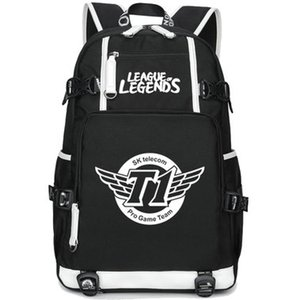 SKT T1 рюкзак SK telecom Team day pack SKT1 игрок мешок школы игры packsack ноутбук рюкзак Спорт ранец из двери рюкзак