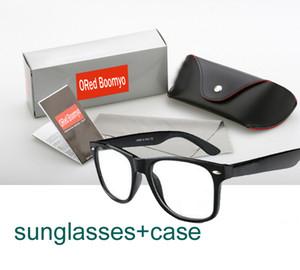 été marque designer mode hommes lunettes de soleil + étui sport en plein air vintage femmes conduite lunettes de soleil rétro lunettes 20colors bateau gratuit