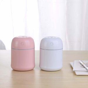 220ml Ultrasonik Esansiyel Yağı Yayıcı Nemlendirici Aromaterapi USB Mini Esansiyel Yağ difüzör Araç Hava Temizleme Aroma Mist Maker hediyeler