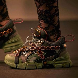 2020 FlashTrek Sneaker con Cristalli rimovibili Womens uomini che corrono Sneakers Mountain Climbing Shoes Mens Outdoor Trekking stivali AA4