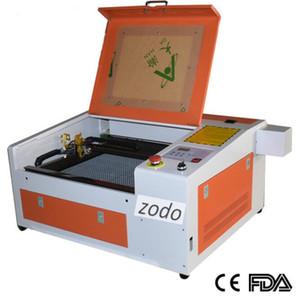 grabador Zodo-440 50W láser, máquina de corte 400x400mm láser 4040 con el tubo de láser de CO2