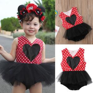 الوليد طفلة توتو تول اللباس الأميرة بذلة Bodysuit فستان الشمس