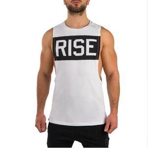 Nouveau Designer Gyms Tanks Tops Pour Hommes D'Été Hommes Gilet Avec Des Lettres Imprimé Casual Workout Fitness Shirt