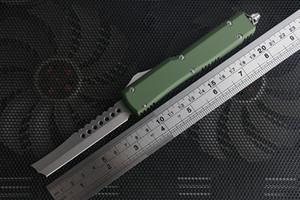 고품질 UT 면도기 사냥 서바이벌 나이프 공중 알루미늄 핸들 D2 남자 크리스마스 선물에 대한 높은 경도 전술 나이프 블레이드