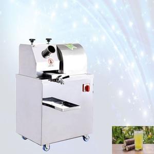 Otomatik elektrikli şeker kamışı sıkacağı makinası dikey şeker kamışı sıkacağı makinası fiyatı 220v ticari şeker kamışı suyu makinesi