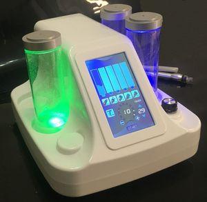 7 в 1 гидромасляных гидроизоляции Hydro Hydro Dermabrasion Ультразвуковая RF холодное молоток кислородный спрей Bio Face Lift Lead LED маска для лица 7 Цветов для омоложения кожи