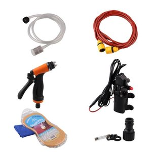 Car Wash Water Gun Six-Piece Set Over-Current Protection High Pressure Mini And Portable Car Washer 1 Set