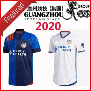 يويا كوبو 2020 MLS FC سينسناتي SOCCER الفانيلة المنزل AWAY 2021 camisetas دي فوتبول 20 21 WASTON GARZA ADI ميدونيانين A.CRUZ قمصان كرة القدم