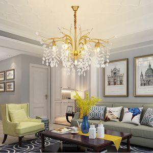 Крите Освещение Luxury Living Столовой Кристалл Лампа Простой Спальня Свет Современной Спальня Бытовой Хрустальные люстры