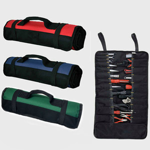 4 Colors Outdoor Waterproof Durable Tools Bags Oxford Cloth Electrician Storage Bag Electrician Multi Functional Tool Pocket Pouch