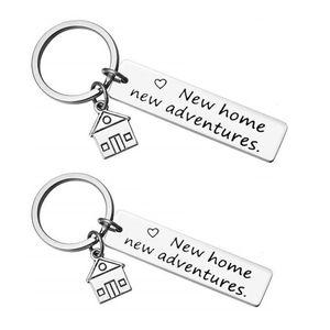 O ya Him Yeni Ev Yeni Maceraları Anahtarlık Ev Keys Anahtarlık Birlikte İlk Ev Hareketli için Sevimli Anahtarlıklar ev hediyesi