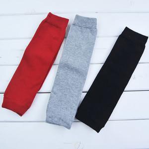 Bébé Legging Warme Chaussettes enfants Chaussettes solides Jambières adultes Manchettes pour nourrissons Chaussettes haut du genou 07