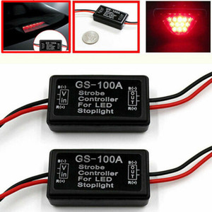 Veículo Car GS-100A LED Brake Parar Luz Strobe flash Módulo Caixa Controlador