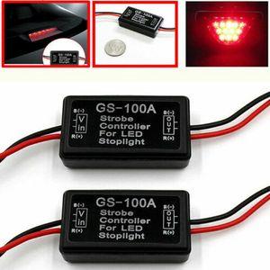 자동차 자동차 GS-100A LED 브레이크 정지 빛 스트로브 플래시 모듈 컨트롤러 박스