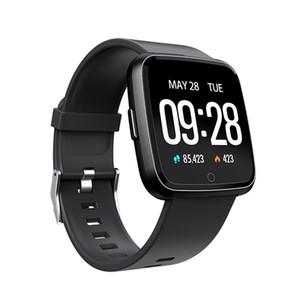 banda de Oxígeno Presión Y7 inteligente pulsera Sangre aptitud del deporte del perseguidor del reloj monitor de ritmo cardíaco Muñequera Pk Fitbit Versa Mi 3 115 Plus