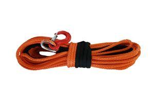 """Самая низкая цена 12mm x 30m 1/2 """"x 100' оранжевая синтетическая лебедка с крюком UHMWPE Rope 4x4 4WD ATV OFF-ROAD"""