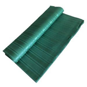 African Nigerian real 100% cotton atiku lace for man cloth atiku fabric 5 yards per piece green color -J5