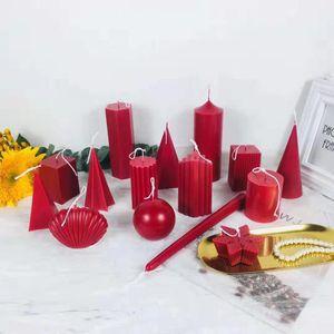 Свеча Плесень силиконовые формы для изготовления свечей DIY Гипс гипсовые формы Клей Смола Пресс-формы Ароматерапия свечи Mold Crafts Making