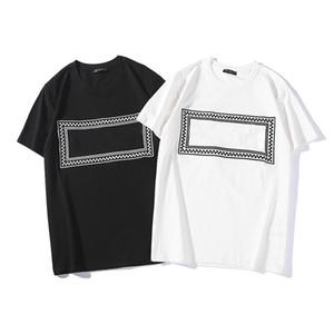de haute qualité pour hommes designer chemise pour hommes d'été de luxe T-shirts manches courtes Tops hommes et femmes T-shirts Marque Casual Vêtements pour hommes Taille S-2XL