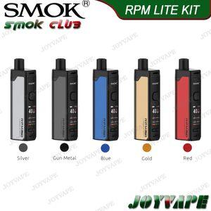 RPM 메쉬 0.4ohm DC 0.8ohm MTL 코일 RPM40 라이트 버전과 SMOK RPM LITE KIT 40W 1250mAh 3.2ml 포드 카트리지