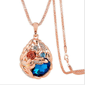2019 New style Woman luxury jewelry Necklace fashion new style Gift Chain Necklaces Lady's long necklace 2color,